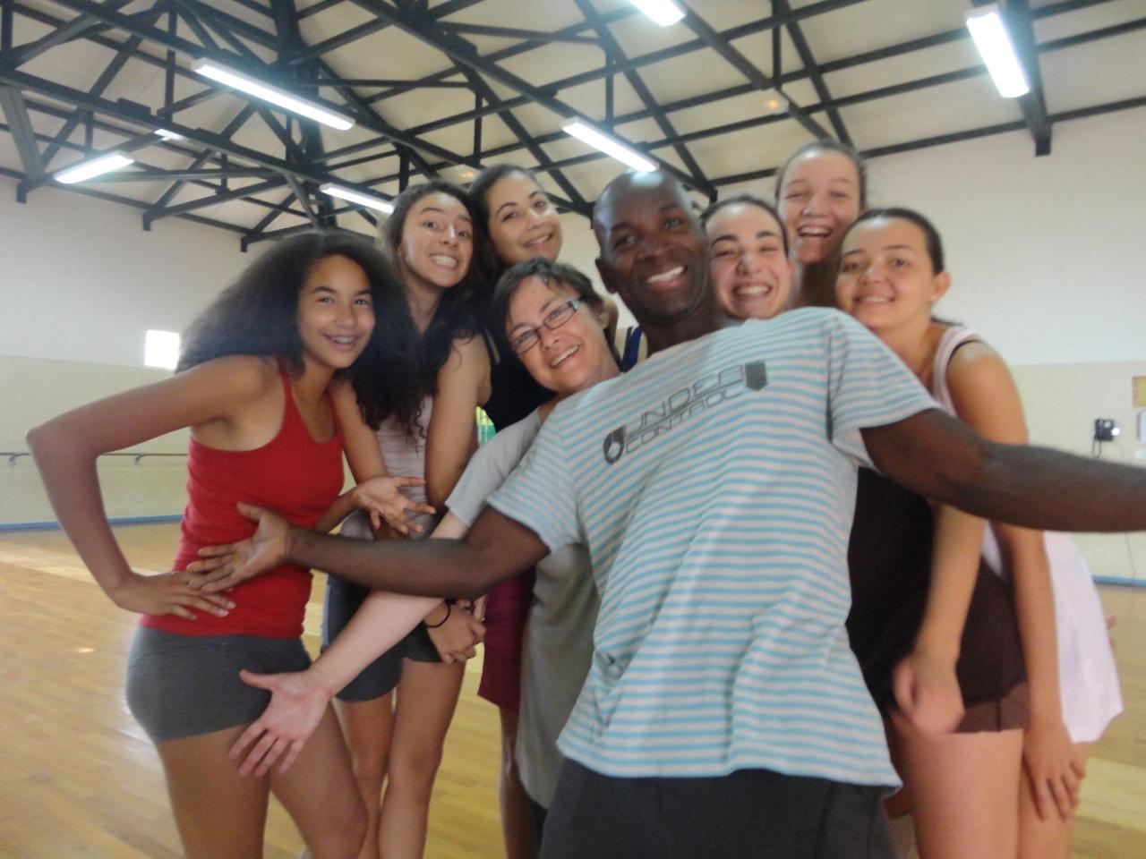 Darius et les filles